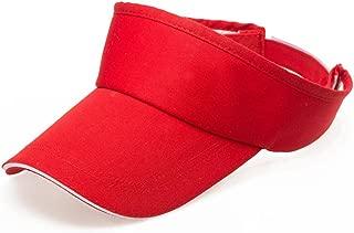 HYIRI Men Women's Summer Visor Sun Plain Hat Summer Camping Cap