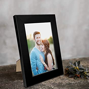 "Art Street Synthetic Table/Wall Photo Frame for Home Décor (5"" x 7"", Black)"