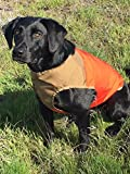 CUGA VEST Serious Protection for The Active Dog (MED, Orange/Coyote)
