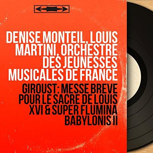 Messe brève pour le sacre de Louis XVI