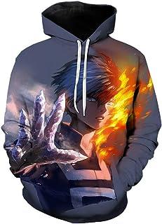 Unisex My Boku No Hero Academia Hoodie Cospay Costume Hoodie Anime Sweatshirt
