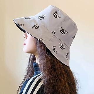 Unisex Panama Bucket Hat Men Women Summer Bucket Cap Love Print Hat Hats Hip Hop Fishing Fisherman Hats