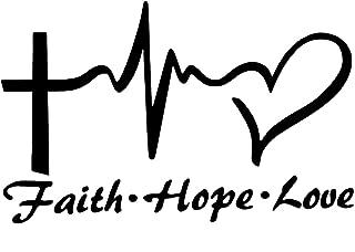Best faith hope love car stickers Reviews