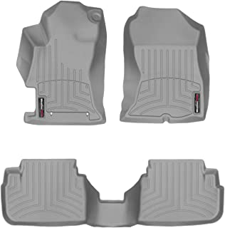 WeatherTech Custom Fit FloorLiner for Crosstrek/Impreza - 1st & 2nd Row (Grey)