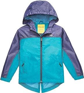 Wantdo Girl's Waterproof Lightweight Jacket Hooded Windbreaker