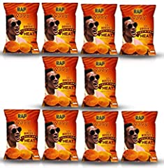 BRAND NEW RAP SNACK FLAVOR! This Snack Pack Kit contains 10 bags of chips. Each bag is 1 oz Tasty Flavor Packed Potato Chips LIMITED SUPPLY Scan QR Code on Back of Bag for Prizes and Downloads