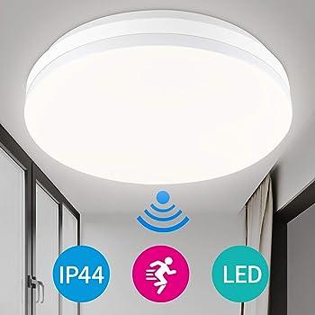 LED Radar Sensor 12W Deckenleuchte Flurlampe Deckenlampe mit Bewegungsmelder DE