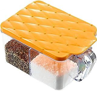 4 grilles Spice Stockage Organisateur Cuisine Assaisonneuse Caisson Poivre Sel Sugar Cuisine Organisateur Ensemble Accesso...