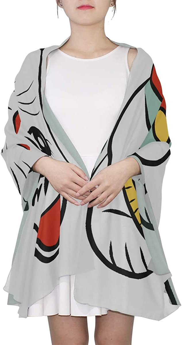 Mens Scarfs Fashion Thin Lucky Cat Maneki Neko Welcome 2018 Womens Scarf Large Scarf Lightweight Lightweight Print Scarves Scarf Unisex Mens Scarfs
