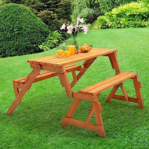 Trueshopping Conjunto de Mesa de picnic