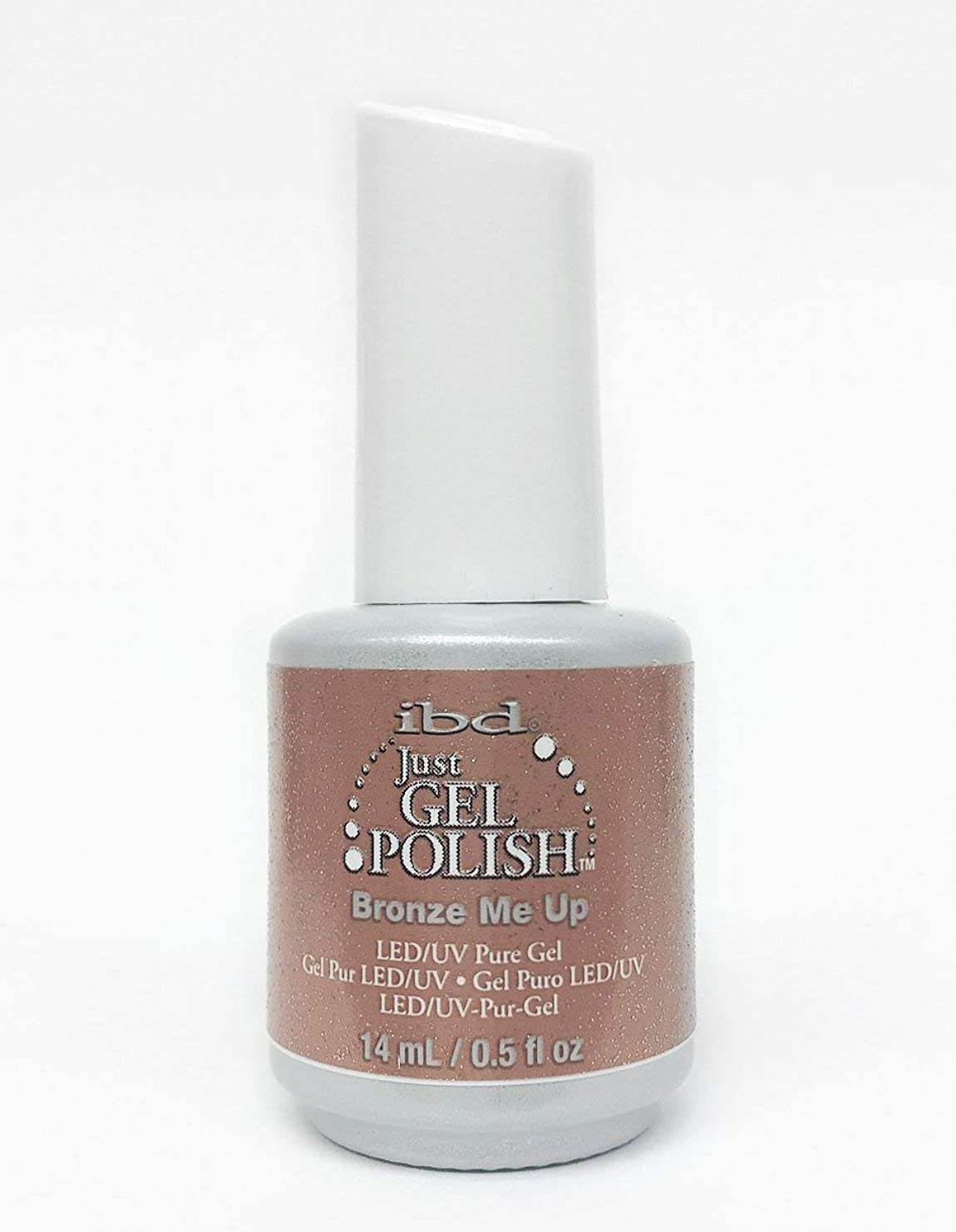 あいまいさ賞賛タクトibd Just Gel Nail Polish - Bronze Me Up - 14ml / 0.5oz