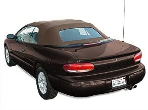 Sierra Auto Tops Chrysler 1996-2000 Sebring/Stratus Convertible Top, Sailcloth Vinyl, Sandalwood