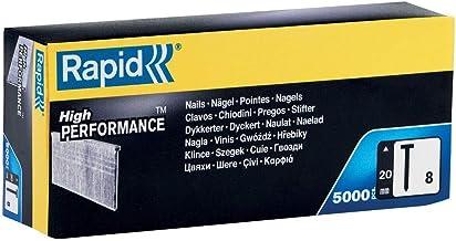 Rapid 40100533 spijkers type 8/20 mm, 5.000 st. doos, 20 mm