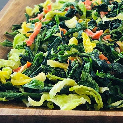 九州産 乾燥野菜グリーンミックス《ほうれん草マシマシ》 (300g) 国産 乾燥野菜 長期保存 非常食 みそ汁の具