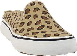 Keds Women's Double Decker Mule Leopard Sneaker