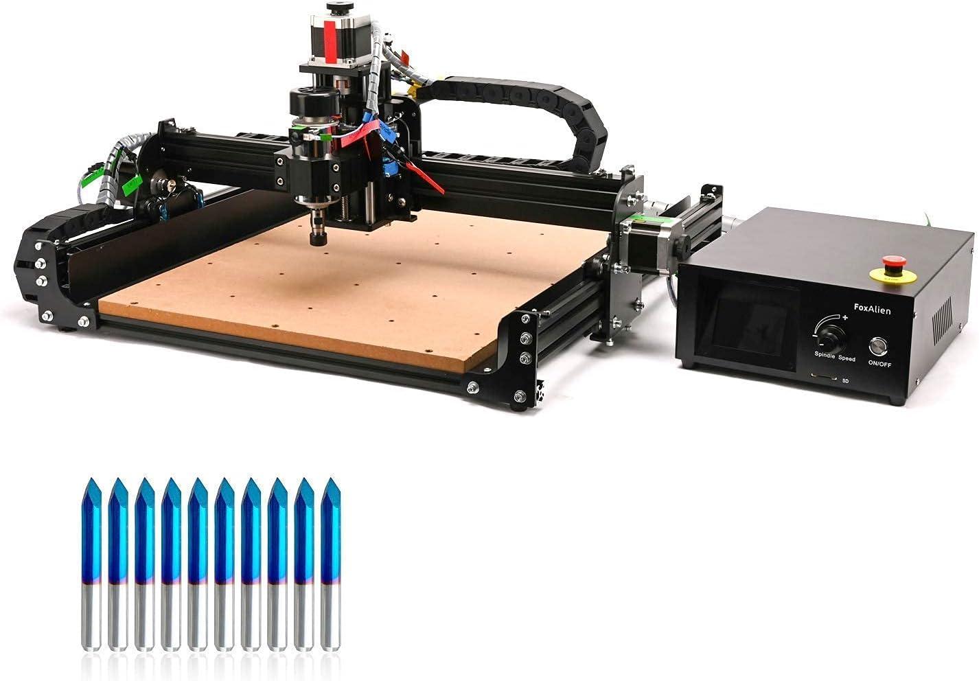 4040-XE CNC Router OFFicial Milling Branded goods Machine Triangular 60deg0.1mm 10pcs +