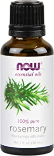 NOW Essential Oils, Rosemary Oil, Purifying Aromatherapy Scent, Steam Distilled, 100% Pure, Vegan, Child Resistant Cap, 1-...