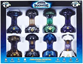 $173 Get Skylanders Imaginators 8 Creation Crystal Combo Pack Dark, Light, Magic, Tech, Undead, Earth, Water, and Life