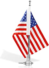 Anley Motorcycle Flagpole Mount and American Flag - 7