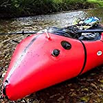 JNWEIYU Inflatable Kayak,Standard Single Boat Without Pulp, Can Be Used for White Water Level 3 Adventure Rafting… 9 LARGE LOAD: This kayak can bear 150 kg weight, enough for 1 persons operate, enough space and convenient to use. Made of high quality thicken PVC material which has 0.3mm thickness, can resist tear, high strength, not easy to be damage. INFLATABLE DESIGN: The inflatable design make it convenient to store when not use, double valve help to finish inflating quickly.