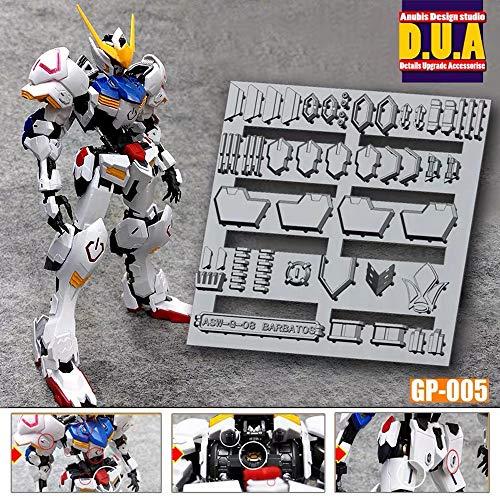 HG RG MG PG RE ガンダム ガンプラ ディテールアップパーツ 3DプリンターPLA製 (1/100 MG ガンダムバルバトス)