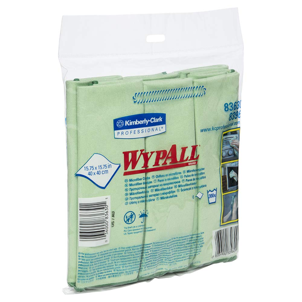 WypAll 83630CT Microfiber Cloths Reusable 3 15 Gre 4 excellence 5 popular x