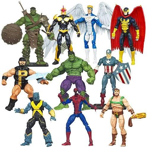 Marvel Universe Action Figures Wave 21 Case of 12 Figures image