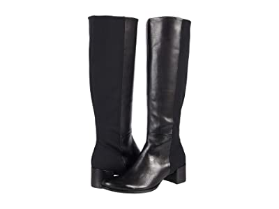 ECCO Shape 35 Block Tall Boot (Black/Black) Women