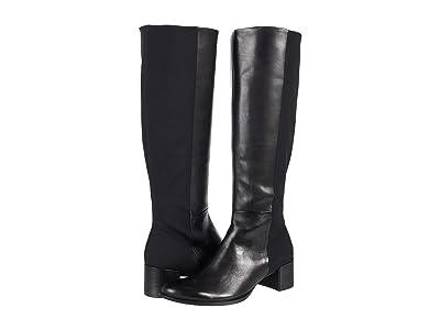 ECCO Shape 35 Block Tall Boot (Black/Black) Women