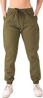 Q-rious Women's Comfort Fit Cotton Blend Jogger Pant/Trousers