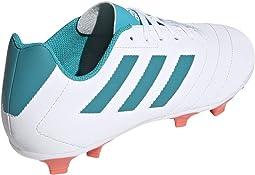 Footwear White/Energy Blue/Easy Coral