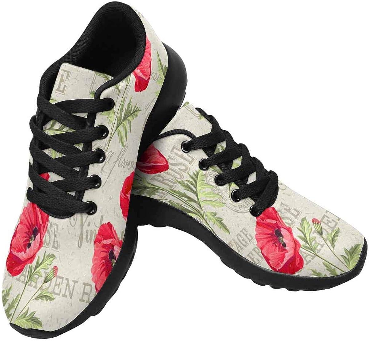 InterestPrint Women's Cross Trainers Running Sneakers