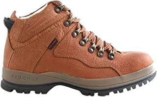 Red Chief Men RC2506 Tan Leather Boots