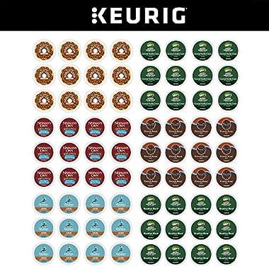 Keurig Variety Pack, Single Serve Coffee K-Cup Pod, Variety, 72