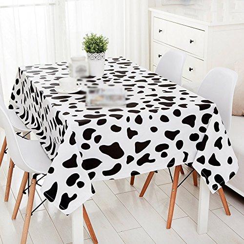 ZWL Simple Vaches modernes Spot Table Tissu Salon Table basse Toile de table Rectangle Tissu de bureau , Ajoutez de la vitalité à la cuisine ( taille : 140*240CM )