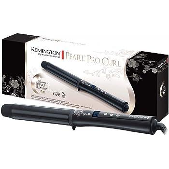 Remington Conique Pearl CI95 - Rizador de pelo, Cerámica con Perla, Punta Fría, Digital, Negro (Reacondicionado): Amazon.es: Belleza