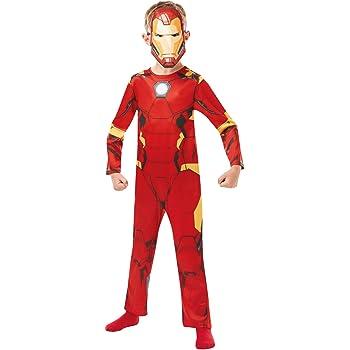 Rubies 640829S Marvel Avengers Iron Man Classic - Disfraz infantil ...