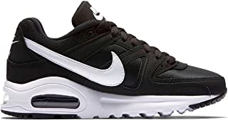Official Brand Nike Air Max Command Trainers Juniors Boys Black/White Shoes Sneakers Footwear