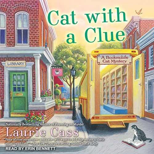 Cat With a Clue audiobook cover art