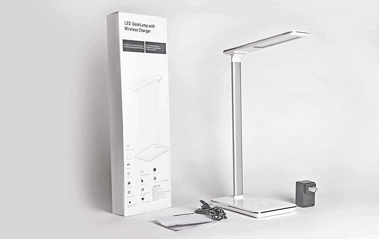 APADANA free shipping MEDICAL Desk Lamp with Many popular brands Po Charger Charging Wireless USB