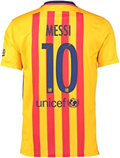 2015-16 Barcelona Away Shirt (Messi 10) - Kids