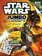 Bendon Inc. Star-Wars Giant Book to Color with Stickers-- Over 500 Stickers