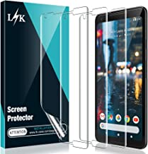 [3 Pack] L K Screen Protector for Google Pixel 2 XL, [Self Healing] [Full Coverage] HD Effect Flexible Film, Lifetime Replacement Warranty