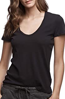Relaxed Gray Casual Tee Imprinted Back