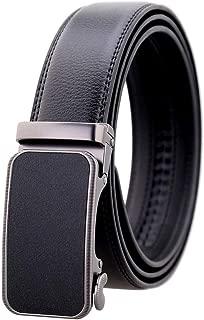 Designer Men Cowhide Genuine Leather Belts For Men Luxury Automatic Buckle Belts