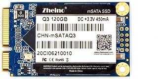 Zheino Q3 内蔵型 mSATA 120GB SSD (30*50mm) mSATAIII 6Gb/s mSATA ミニ ハードディスク