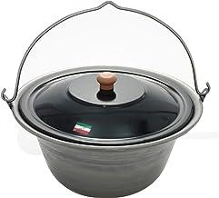 Grillplanet Gulaschkessel 15 Liter Eisen und Deckel, original in Ungarn hergestellt