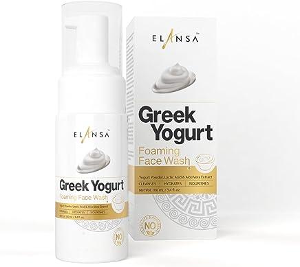 Elansa Greek Yoghurt Foaming Face Wash, 100ml