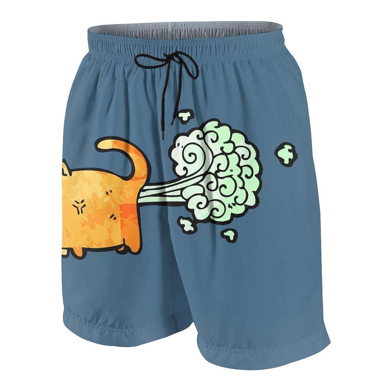 男の子 ハーフパンツ 海パン Farting Dog ショートパンツ サーフパンツ 五分丈 ボードショーツ 速乾 水陸両用 アウトドア 海水浴 普段着 街着 柔らかい 7-20歳が適当