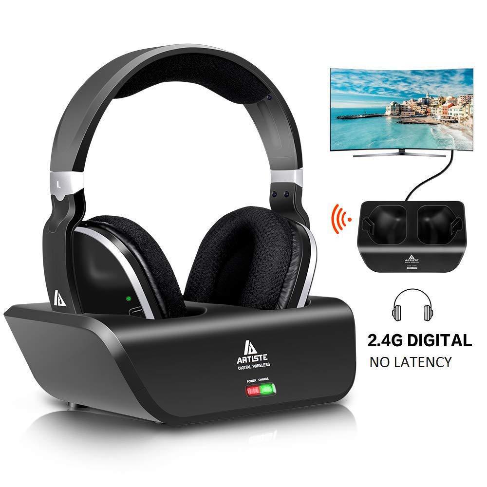 Wireless Headphones Monodeal Headsets Transmitter